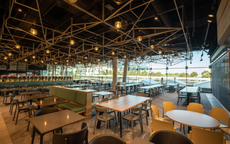 M&OP serves up refurbished Rod Laver Arena