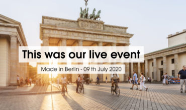 Safely Made in Berlin: CVB leads by example in staging customer event first